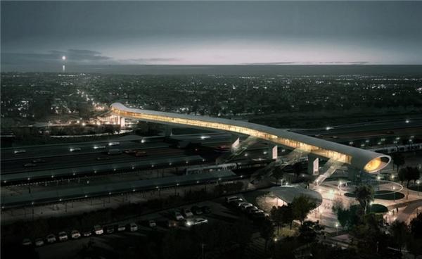 Tọa lạc tại thành phố ven biển Køge của Đan Mạch, cây cầu North Station Køge được thiết kế bởi công ty kiến trúc COBE dự kiến sẽ là cây cầu bận rộn nhất ở Đan Mạch. Khi hoàn thành vào năm 2018, cây cầu sẽ cung cấp tầm nhìn toàn cảnh 180 độ tuyệt đẹp.