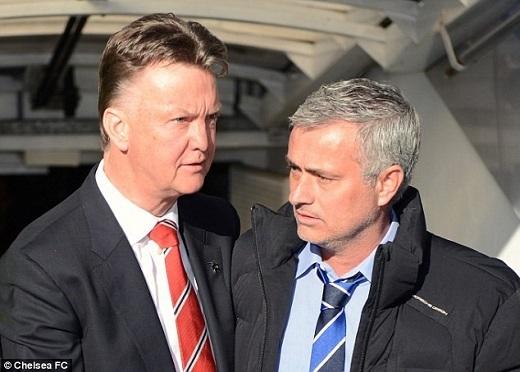 Jose Mourinho thay thế Louis van Gaal dẫn dắt MU mùa tới. Ảnh:Daily Mail.