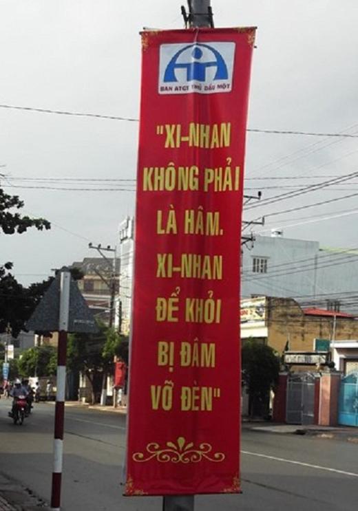 Giá như khẩuhiệu giao thông được thành thơ như thế này thì hay biết mấy! (Ảnh: Internet)