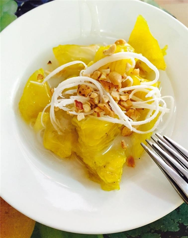 Bánh chuối cốt dừa – món tráng miệng hoàn hảo cho một buổi chiều rong chơi thú vị. (Ảnh: Internet)