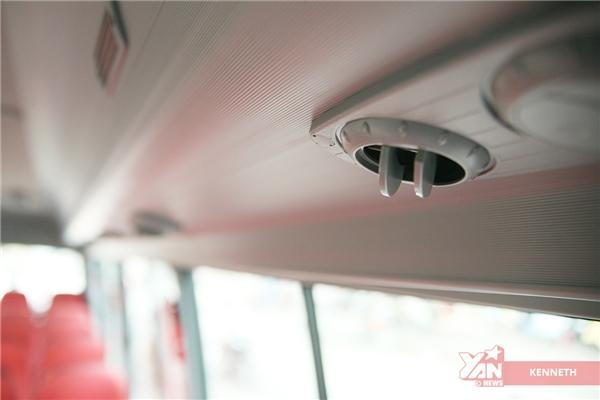 Hệ thống máy lạnh làm việc hiệu quả, đặc biệt là trong điều kiện thời tiết nắng nóng như hiện tại.