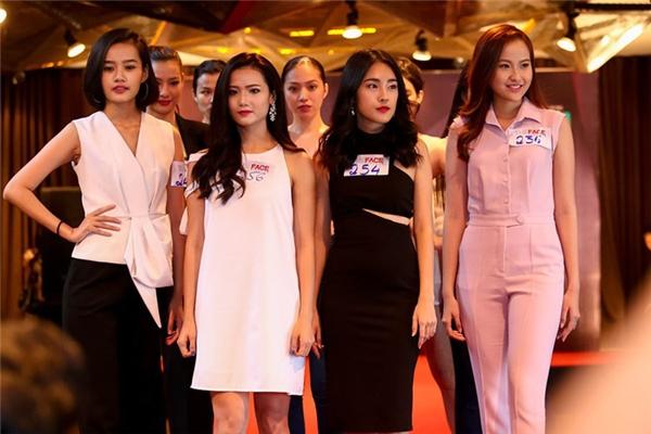 Những gương mặt quá quen thuộc với khán giả trong ngày casting The Face Vietnam.
