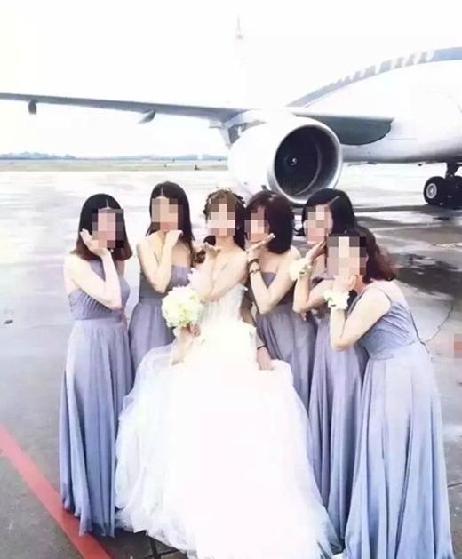 Đám cưới siêu xa xỉ, đón dâu bằng chuyên cơ hạng sang