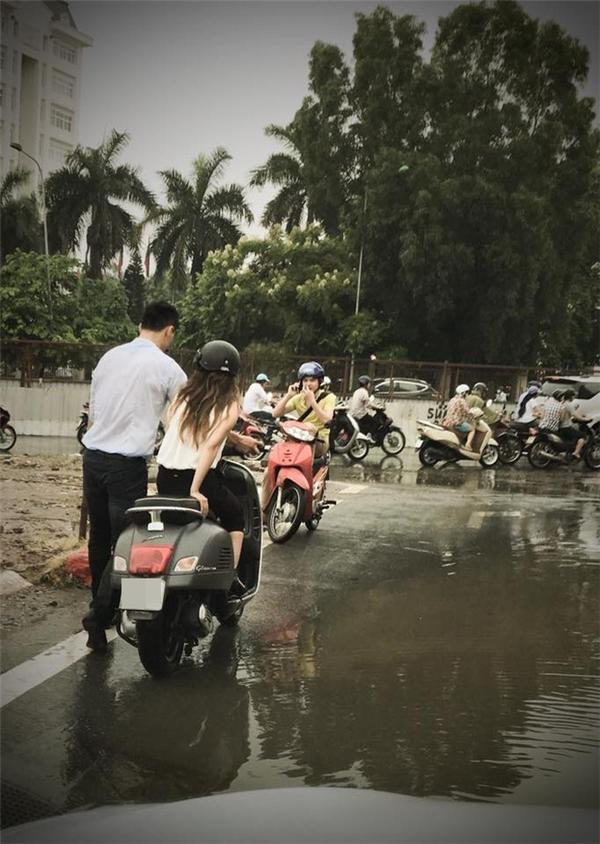 """Bức ảnh """"soái ca"""" galang được chụp sáng nay khiến dân tình hết sức ghen tị.(Ảnh: Hung Viet Ngo)"""