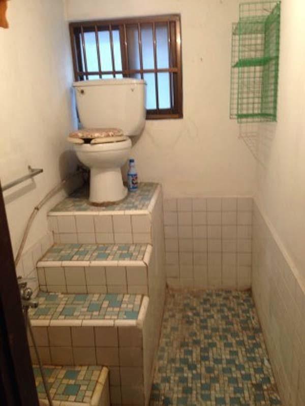 Có đi toilet cũng phải ở trên đỉnh của thế giới.