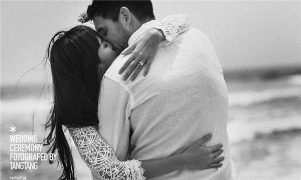 """Hà Anh lại """"nhá hàng"""" ảnh cưới lãng mạn trên biển. Đám cưới siêu mẫu dự kiến tổ chức vào tháng 7 sắp tới. - Tin sao Viet - Tin tuc sao Viet - Scandal sao Viet - Tin tuc cua Sao - Tin cua Sao"""