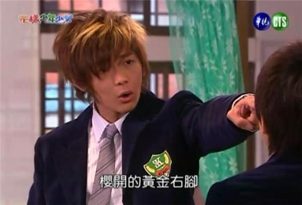 Anh chàng cũng từng gây được sự chú ý của mọi người với vai Kim Tú Y ngốc nghếch hài hước trong Hoa Dạng Thiếu Nam Thiếu Nữ.