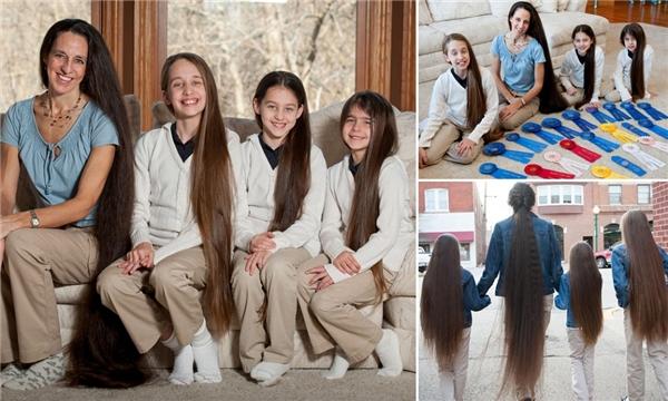 tóc dài nhất