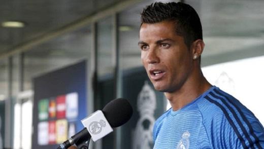 Ronaldo có những chia sẻ trước thềm trận chung kết cúp C1