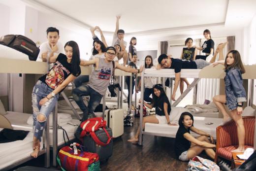 Bộ ảnh của nhóm bạn Thái Lan từng làm xôn xao cộng đồng mạng. (Ảnh: Internet)
