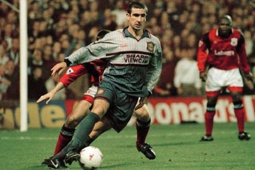 Cantona là một trong những cầu thủ vĩ đại nhất của MU
