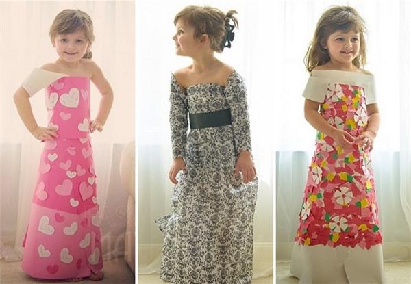 Mayhem tự thiết kế và làm những bộ váy ấn tượng.