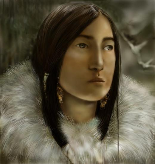Công chúa Altai. (Ảnh: Internet)