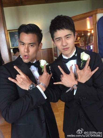 Bành Vu Yến và nam diễn viên trẻ đang lên Lưu Hạo Nhiên.