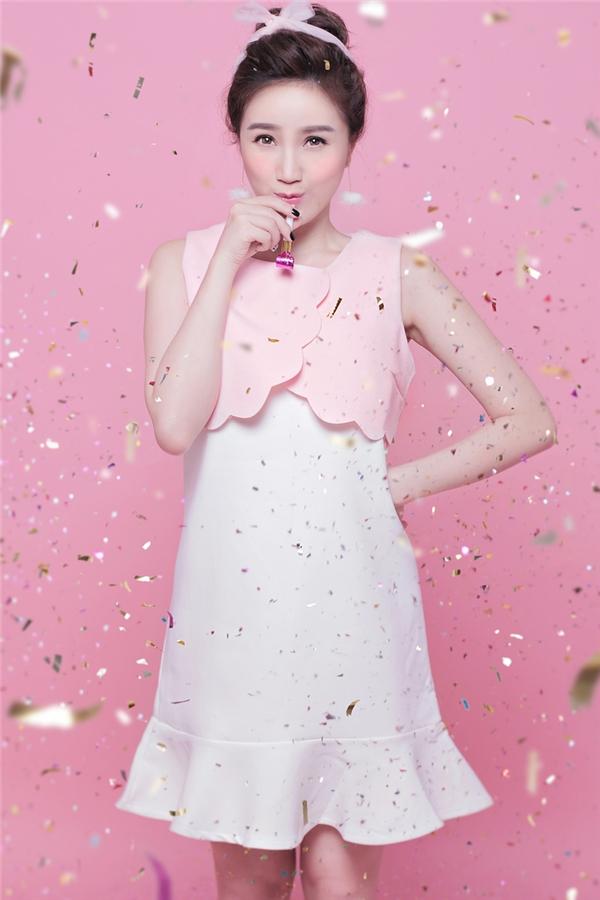"""Hình ảnh ngọt ngào của nàng """"công chúa bong bóng"""" trong bộ ảnh thời trang mới."""