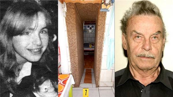 Elisabethcùng người cha thú tính và căn hầm đã nhốt cô suốt 24 năm.