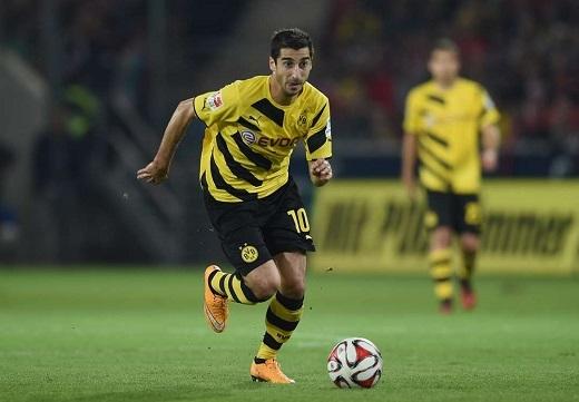 Henrikh Mkhitaryan đang có một phong độ vô cùng ấn tượng cùng Dortmund