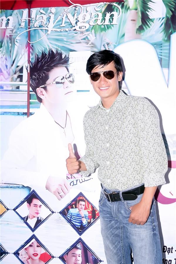 Diễn viên Võ Thành Tâm góp mặt trong buổi ra mắt album.