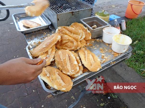 bánh mì muối ớt