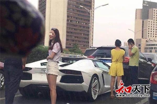 Hình ảnh chủ nhân của chiếc xe Lamborghini. (Ảnh: Internet)