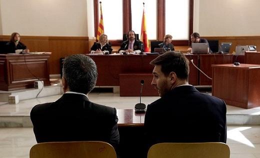 Tại phiên tòa, Lionel Messi khẳng định giao quyền điều hành công ty cho ông Jorge Horacio Messi, nên không vô can trong vụ bị cáo buộc trốn thuế.