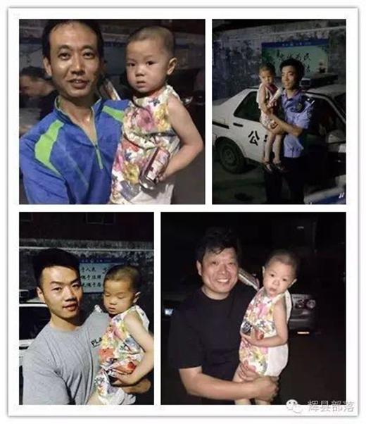 Đứa trẻ đã được an toàntrả về với gia đình.