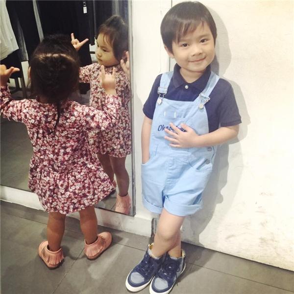 """Cả Rio và Cherry đều được bố mẹ cho ăn mặc rất ra dáng """"fashionista"""". - Tin sao Viet - Tin tuc sao Viet - Scandal sao Viet - Tin tuc cua Sao - Tin cua Sao"""