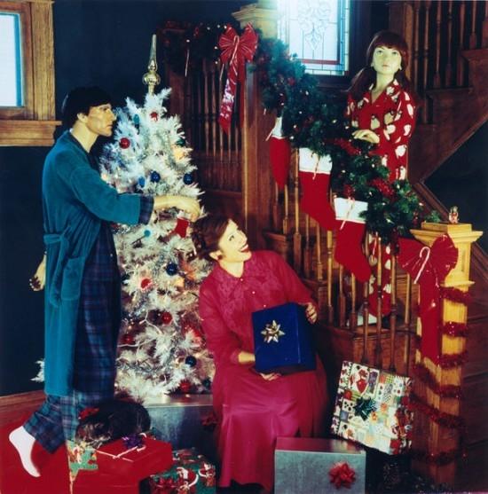 """Bà Suzanne đón Giáng sinh cùng """"gia đình"""".(Ảnh:Internet)"""