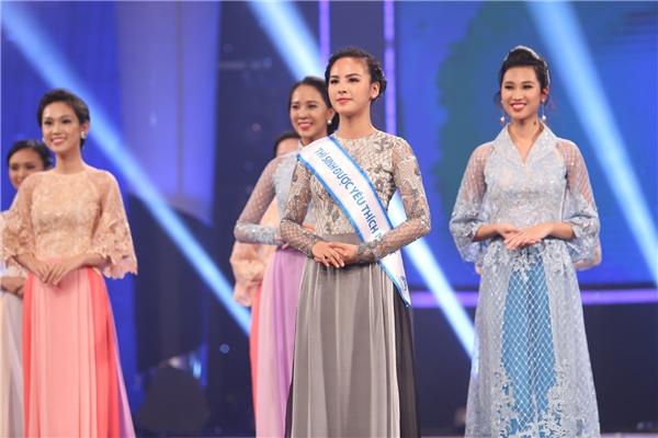 Thí sinh được khán giả yêu thích nhất trong mùa giải năm nay:Quỳnh Nga - cô gái đến từ thủ đô Hà Nội.