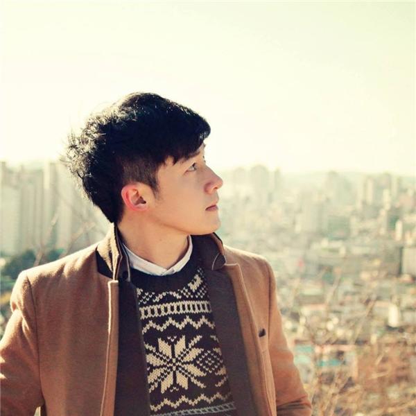 Cận cảnh vẻ đẹp trai chuẩn Hàn của anh chàng Phan Nhân. (Ảnh: NVCC)