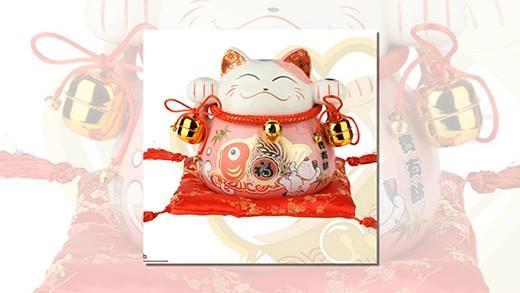 Mèo thần tài và cách trưng theo phong thủy hút tiền bạc