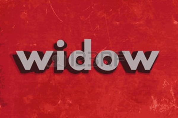 """#1 """"Widow"""" là từ chỉ phụ nữ duy nhất trong tiếng Anh mà lại ngắn hơn từ mang nghĩa tương tự dành cho nam (widower).(Ảnh: Internet)"""