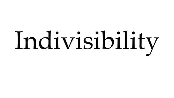 """#2 Có một từ trong tiếng Anh mà chỉ có một nguyên âm nhưng được lặp lại 7 lần: """"Indivisibility"""" (tính không chia hết).(Ảnh: Internet)"""