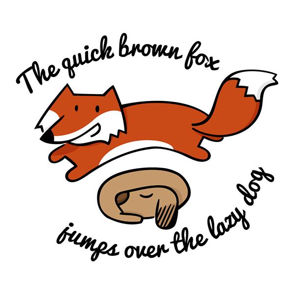"""#8 """"The quick brown fox jumps over the lazy dog"""" là câu chứa tất cả các chữ cái trong bảng chữ cái tiếng Anh.(Ảnh: Internet)"""