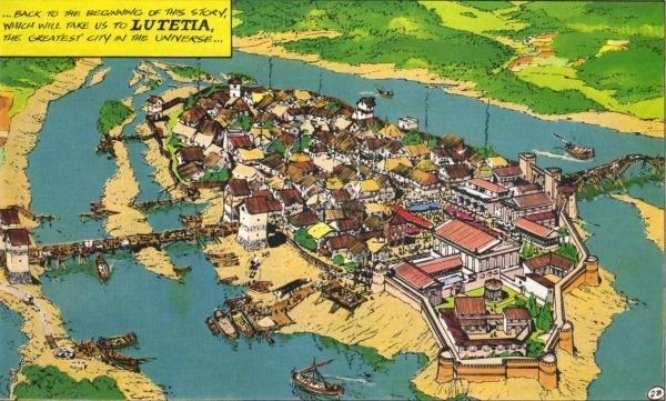 1. Thành phố Paris ra đời vào thế kỉ 3 trước Công nguyên với tên gọi là Lutetia. (Ảnh: Internet)