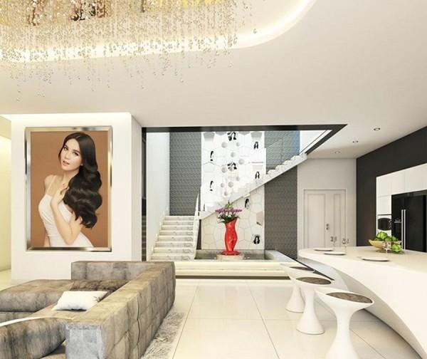 Nhà mới của Ngọc Trinh có diện tích 200m2, nằm trên tầng 33 của một khu căn hộ cao cấp ở quận 7, TP HCM, - Tin sao Viet - Tin tuc sao Viet - Scandal sao Viet - Tin tuc cua Sao - Tin cua Sao