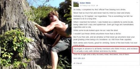 Mọi người cho rằng Webb đã dự cảm trước cái chết của mình. (Ảnh: Internet)
