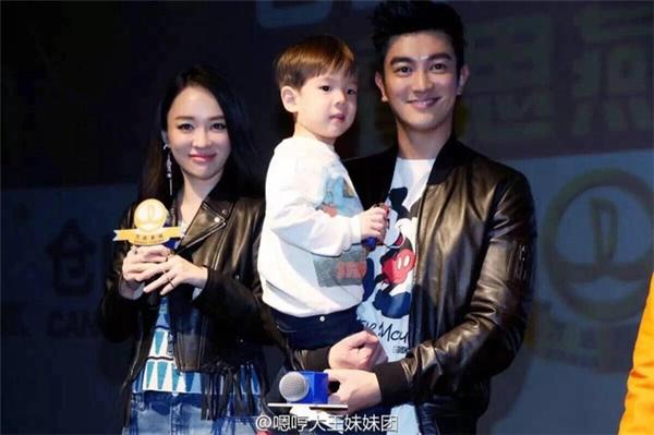 Gia đình hạnh phúc của Đỗ Giang và Hoắc Tư Yến