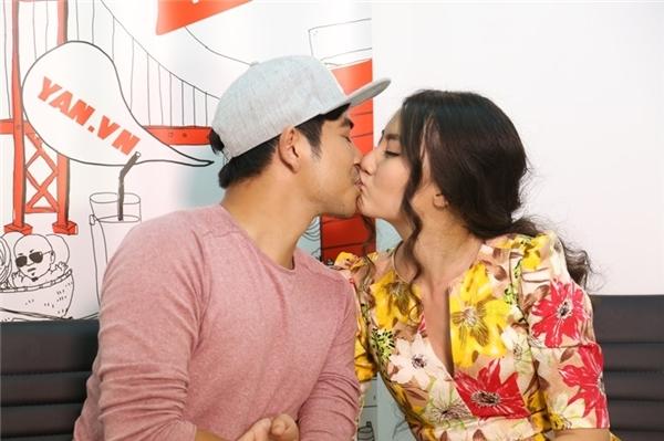 """Nụ hôn ngọt ngào, nồng cháy chàng """"soái ca"""" Thanh Bình dành cho người yêu xinh đẹp. - Tin sao Viet - Tin tuc sao Viet - Scandal sao Viet - Tin tuc cua Sao - Tin cua Sao"""