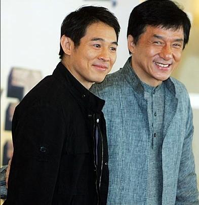 Lý Liên Kiệt và Thành Long khó có cơ hợp tác trong tương lai. Ảnh: QQ.