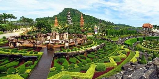 ' Sau vài thập kỉ, khu vườn nhanh chóng trờ thành một trong những khu vườn đẹp nhất thế giới. (Ảnh: Internet)