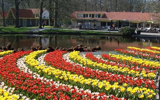 Keukenhof Gardenchỉ mở cửa vào mùa xuân. (Ảnh: Internet)