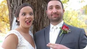Hẳn cô dâu chú rể khi xem lại ảnh sẽ cười ra nước mắt mất. (Ảnh: Internet)