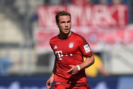 Mario Goetze không có được chỗ đứng vững chắc ở Bayern Munich