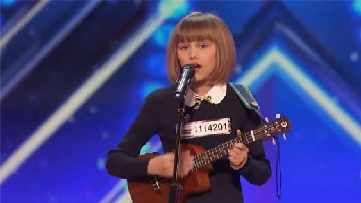 Màn trình diễn của cô bé 12 tuổi