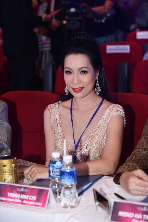 Á hậu Việt Nam 1994 Trịnh Kim Chi cũng giữ vai trò giám khảo trong đêm chung khảo Hoa hậu Việt Nam 2016 khu vực miền Nam.