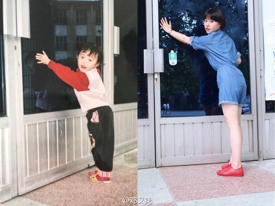 Những bức ảnh được chụp ở khu hoa viên Giang An, nơi mà ngôi trường được thành lậpvà cũng là nơi côđược sinh ra.