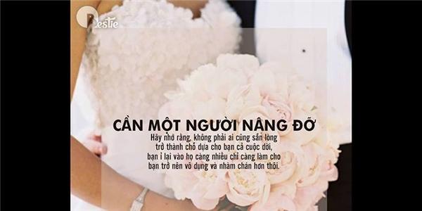 Xin hãy đừng kết hôn vì những lí do sau đây