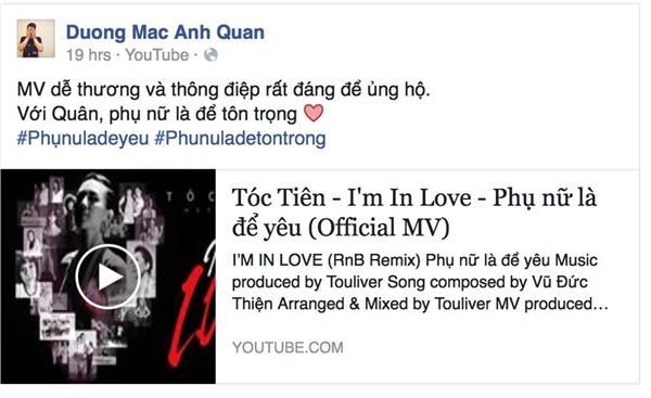Bị cho là thiếu tôn trọng LGBT, BB Trần lên tiếng bênh vực Tóc Tiên - Tin sao Viet - Tin tuc sao Viet - Scandal sao Viet - Tin tuc cua Sao - Tin cua Sao