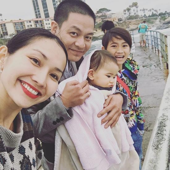 Kim Hiền thường xuyên chia sẻ hình ảnh về những chuyến đi chơi, dã ngoại của cả gia đình trên trang cá nhân. - Tin sao Viet - Tin tuc sao Viet - Scandal sao Viet - Tin tuc cua Sao - Tin cua Sao
